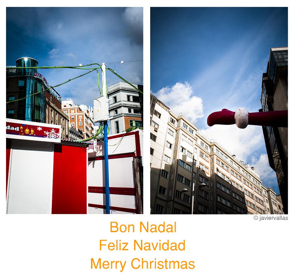 Felicitación navidad de Javier Vallas