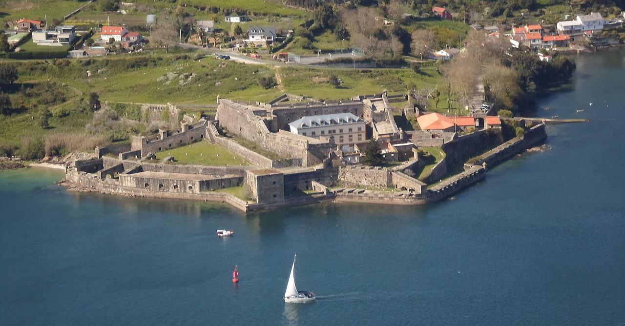 imagen del castillo de San Felipe en Ferrol